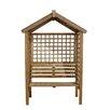 Forest Garden Palermo 2 Seater Wooden Arbour