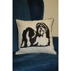 Curtain Chic Faithful Companions Shih Tzu Dog Pillow Cover