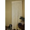 Curtain Chic Vine Lined Lace Single Curtain Panel