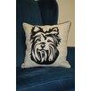 Curtain Chic Faithful Companions Terrier Dog Pillow Cover