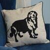 Curtain Chic Faithful Companions Golden Retriever Dog Pillow Cover