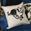 Curtain Chic Faithful Companions Kitty Cat Pillow Cover