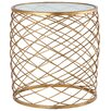 Mariana Home Criss Cross End Table