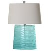 "Mariana Home Ocean Wave 25"" H Table Lamp with Empire Shade"