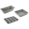 Salter 3 Piece Non-Stick Marble Bakeware Combo Set
