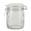 Beau & Elliot Confetti 3 Piece Embossed Glass Storage Jar Set