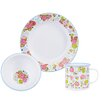 Julie Dodsworth Enamel 3 Piece Dinning Place Setting