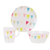 Summerhouse Summer Fete Melamine 3 Piece Place Setting