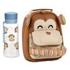 My Little Lunch My Little Lunch Chimp Insulated Lunch Bag and Hydration Bottle Set