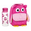 My Little Lunch Owl Insulated Drink Bottle and Lunch Bag Set