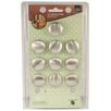 Global Door Controls Sapphire Mushroom Knob (Set of 10)