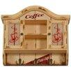 Carrick Design Endless Coffee 2 Door Wall Cabinet