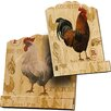 Carrick Design Farmyard Recipe Book Holder