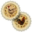 Carrick Design Farmyard 32cm Wall Clock