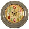 Carrick Design 21.5cm Wall Clock