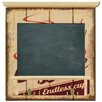 Carrick Design Endless Coffee Wall Mounted Chalkboard 47cm H x 45cm W