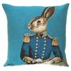 BelgianTapestries Fabfunky Rabbit Cushion Cover