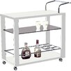 At Home USA Serving Cart