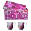 Images D'Orient UK Mosaic 3-Piece Box and Cup Set