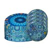 Images D'Orient UK Moucharabieh 5-Piece Tin Box and Plate Set