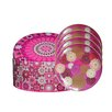 Images D'Orient UK 5-Piece Tin Box and Plate Set