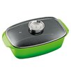 king 33 cm x 21 cm Non Stick Casserole Dish with Lid