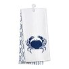 Occasionally Made Coastal Home 2 Piece Crab Kitchen Hand Towel (Set of 2)