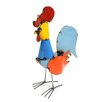 Xsmall Tonito Rooster Statue - Rustic Arrow Garden Statues and Outdoor Accents