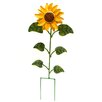 Tuscany Sunflower Garden stake - Rustic Arrow Garden Statues and Outdoor Accents