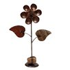 Daisy on Rock Statue - Rustic Arrow Garden Statues and Outdoor Accents
