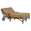 Pride Family Brands Grand Regent Double Chaise Lounge with Cushion