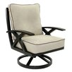 Pride Family Brands Lotus Lounge Swivel Chair with Cushion