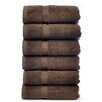 Bare Cotton Luxury Hotel and Spa Towel 100% Genuine Turkish Cotton Hand Towel (Set of 6)