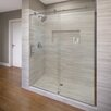 "Basco Vinesse 76"" x 59"" Rolling Door with Fixed Panel Shower Door"