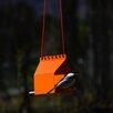 Brdi Platform Tray Bird Feeder - Color: Orange - Onehundred Bird Feeders