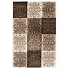Kayoom Belgum Brown Area Rug