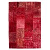 Kayoom Handgefertigter Teppich Atlas in Rot