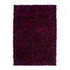 Kayoom Handgefertigter Teppich Diamond in Violett/ Schwarz