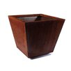 Veradek Metallic Series Square Planter Box