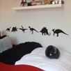 Nutmeg Wall Stickers 6-tlg. Wandsticker-Set Dinosaur