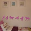 Nutmeg Wall Stickers 6 Piece Horse Wall Sticker Set