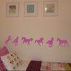 Nutmeg Wall Stickers 6-tlg. Wandsticker-Set Horse