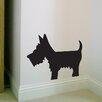 Nutmeg Wall Stickers Wandsticker Scottie Dog