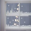 Nutmeg Wall Stickers Christmas Village Scene Wall Sticker