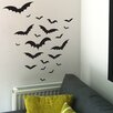 Nutmeg Wall Stickers Halloween Bats Wall Sticker