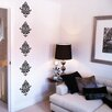 Nutmeg Wall Stickers Damask Wall Sticker