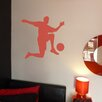 Nutmeg Wall Stickers Footballer Wall Sticker
