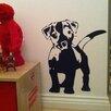 Nutmeg Wall Stickers Wandsticker Love my Dog