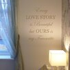 Nutmeg Wall Stickers Every Love Story is Beautiful Wall Sticker