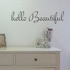 Nutmeg Wall Stickers Hello Beautiful Wall Sticker